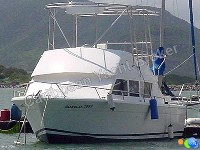 Caribbean Yacht Broker - Chris Craft Sedan ...