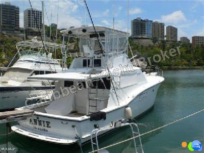 Caribbean Yacht Broker - Hatteras 45 Convertible Sport Fisherman